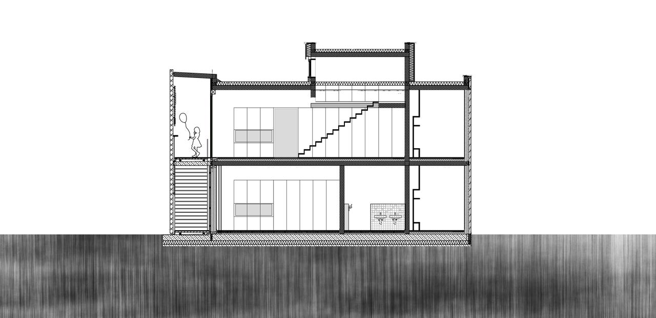 Kita schlangenbader stra e a z architekten - Architektur schnitt ...